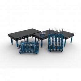 Table de soudage GPPH PLUS Ø 28 mm | Deronne-soudure.fr