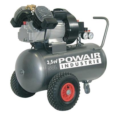 Compresseur à entraînement direct Bi-cylindre sur roues